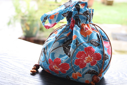 Batik Drawsting Bag