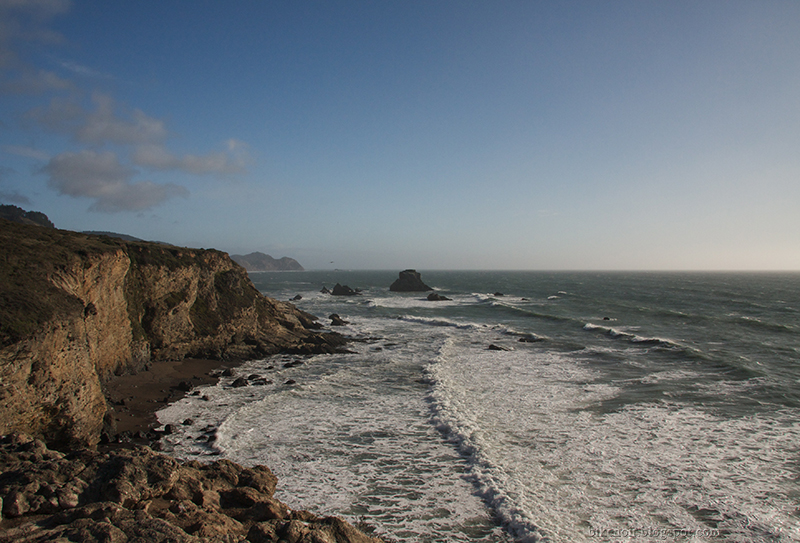 Looking South from Arch Rock