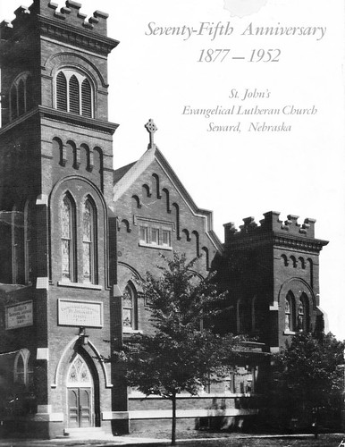 St John Church in Seward, Nebraska, in 1952