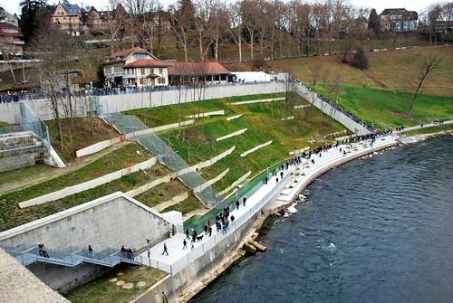 Le parc aux ours de Berne