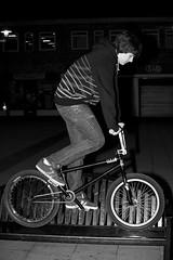 Bike Seat (mark hunter images) Tags: street urban bike bicycle night canon outdoors blackwhite unitedkingdom streetphotography 5d 2009 mark2 markhunter nightphotograpghy 5dmark2 markhunterimages
