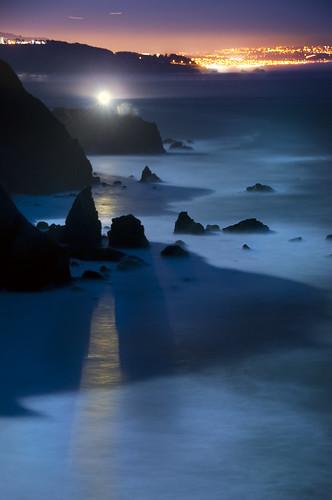 Point Bonita by Moonlight