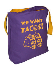 we want tacos purple side (PurplenGoldLA) Tags: lakers staplescenter losangeleslakers ilovela ilovelosangeles lakergame bostonsucks celticssuck wewanttacos lakershirt lakershirts lakertotebags lakergear lakerpics llalakers lakersimages lakerpictures youcantbeatus youcantbeatthelakers