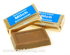 Chocolate Swiss Milch Chocolate Squares