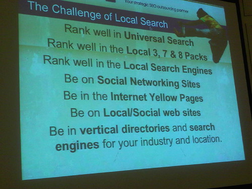 slide on the challenge of local search