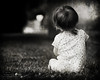 Waiting (Cygnus~X1 - Visions by Sorenson) Tags: family summer blackandwhite bw usa baby white black texture grass canon eos unitedstates fb indiana overlay explore 2009 monon 50d ef70200mmf28lisusm belah craigsorenson inchildren