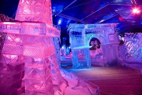 Ice Sculpture Festival in Bruges