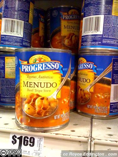 Progresso now sells Menudo