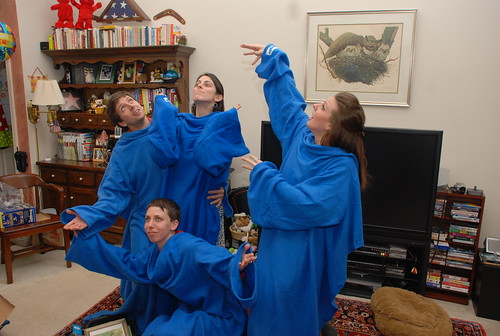 The Snuggie Tableaux