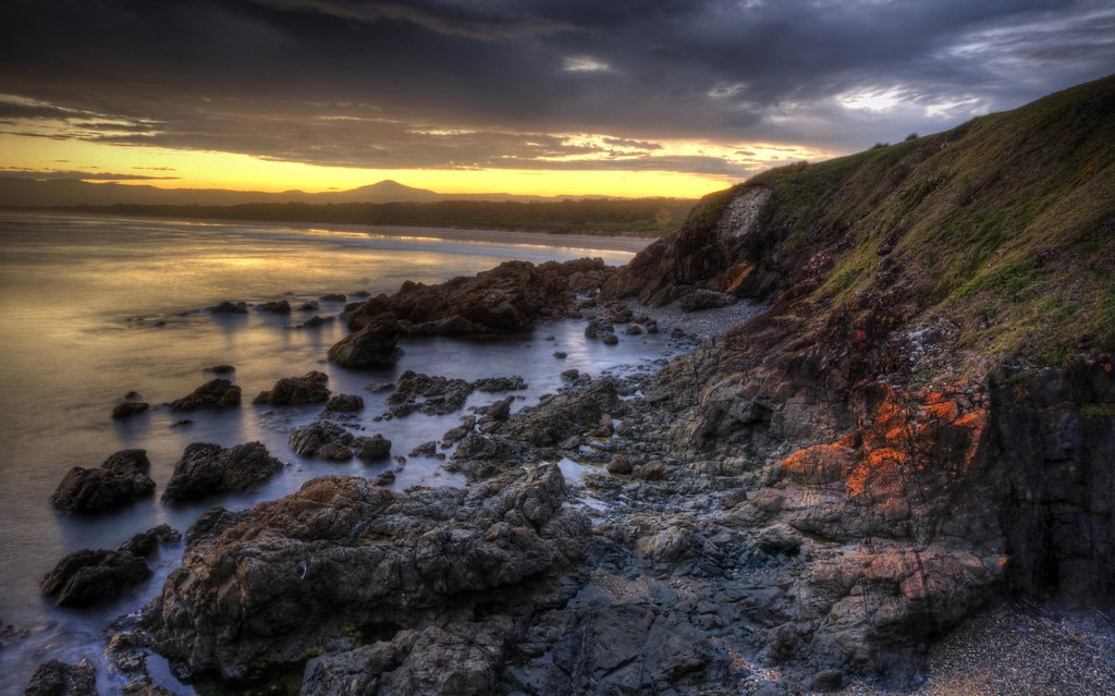 2/365 - Sunset @ Look At Me Now Headland, Emerald Beach NSW