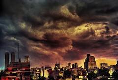 Tormenta - Storm (celta4) Tags: city texture textura argentina clouds buildings edificios buenosaires ciudad nubes tormenta strom hdr