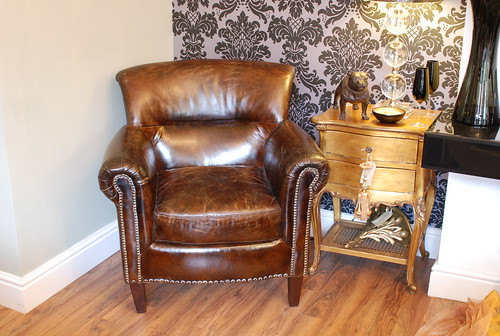 brown leather chair stansted by home stansted