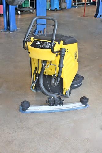 """German Car Depot"" Floor-scrubber"