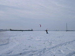 spot de snow kite normand