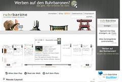 Screenshot: ruhrbarone.de (neues Layout)
