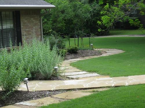Frontyard landscaper