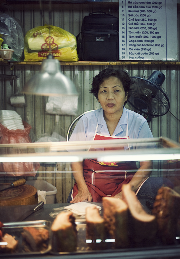 Saigon Morning Market