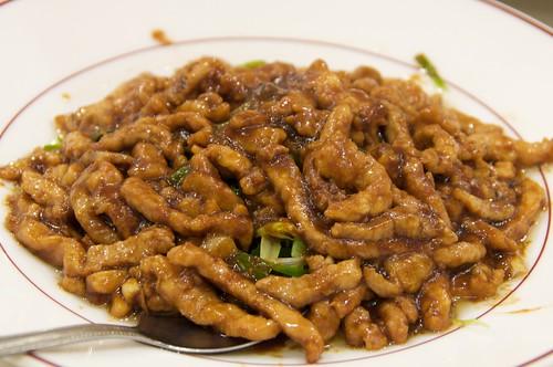 淞園飯館 京醬肉絲夾餅