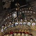 Lamps and medallions on the front of the Tomb of Christ (Susie Cagle)