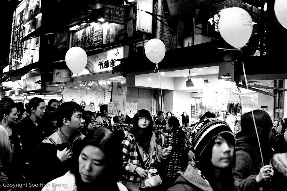 Balloons @ Shilin Night Market, Taipei, Taiwan