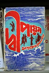 Pirates hijack amoeba-ship. Details at 11. (quinn.anya) Tags: india men water silhouette book waves indian coverart guns bookcover southasian hijacking