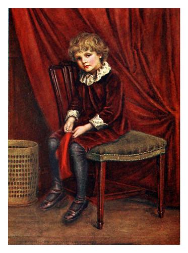 012- El niño de rojo-Kate Greenaway 1905- Marion Spielmann y George Layard