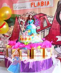 Barbie and Cupcake Set - Mommycakes (Mommy Cakes Jogja) Tags: cake island 3d princess barbie the