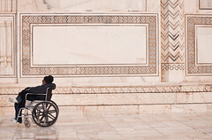Accessible Taj Mahal