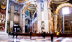 Inside St Peters (Paul Jarrett Photography) Tags: pictures italy stpeters rome church st photos basilica picture photographs peters inchains pauljarrett basilicaofstpetersinchains pjar72