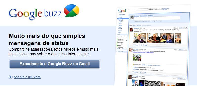 Google buzz, blogspot, dicas blog