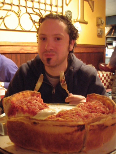 Chicago- Giordano's stuffed pizza