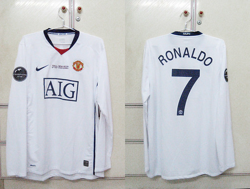Manchester United 2008-2009 UCL Final L/S (RONALDO)