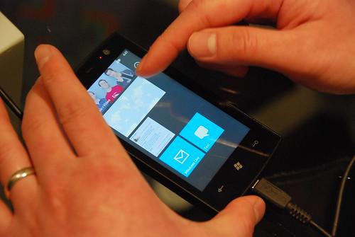 Windows Phone 7 Series demo