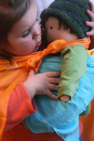 Babywearing Seamus