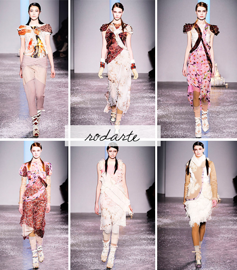 rodarte fall 2010 ready to wear collection