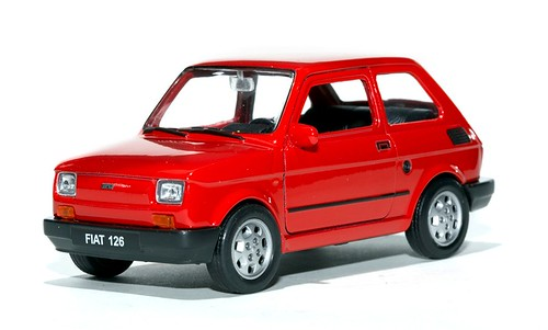 Welly FSO Fiat 126p