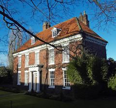 New Hall, Barton Upon Humber (D H Wright) Tags: listedbuilding newhall northlincolnshire bartonuponhumber