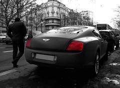 Bentley Conti GT Diamond Series (Qdammchillaz) Tags: london cars speed germany deutschland grey spider shot continental spyder monaco diamond kudamm series bent gt noise