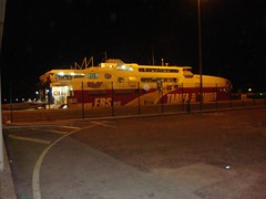 Viagem de Ferry de Tarifa para Tanger; Fev. 2010