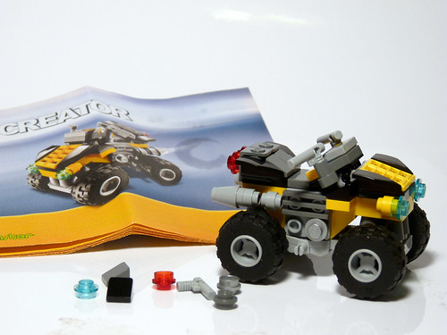 20014 Brickmaster Mini 4x4 set