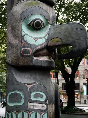 Pioneer Square Totem Pole 1