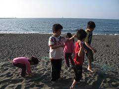 20100130-海邊玩沙 (2)