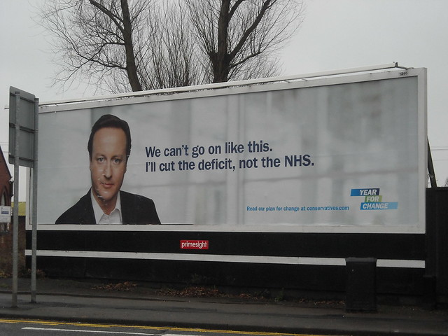 David Cameron's so-called policy on the NHS!