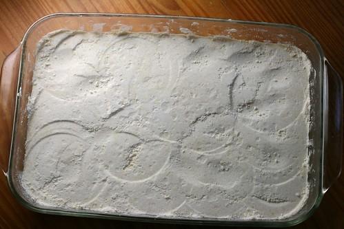 shortbread crust, ready to bake