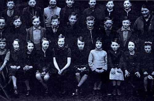 Class Picture, Rosemount Street School, Townhead 1938.
