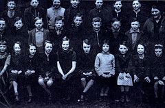 Image titled Class Picture, Rosemount Street School, Townhead 1938.