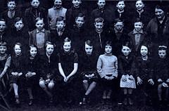 Image titled Class Picture, Rosemount Street School, Townhead 1938.