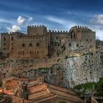 Caccamo (PA) - Il Castello lato est (HDR)