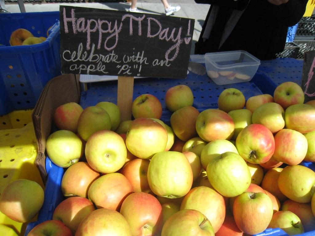 Happy Pi Day at the Campbell Farmer's Market