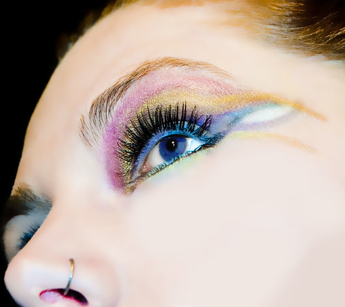 Alice in wonderland inspired eyeshadow designs